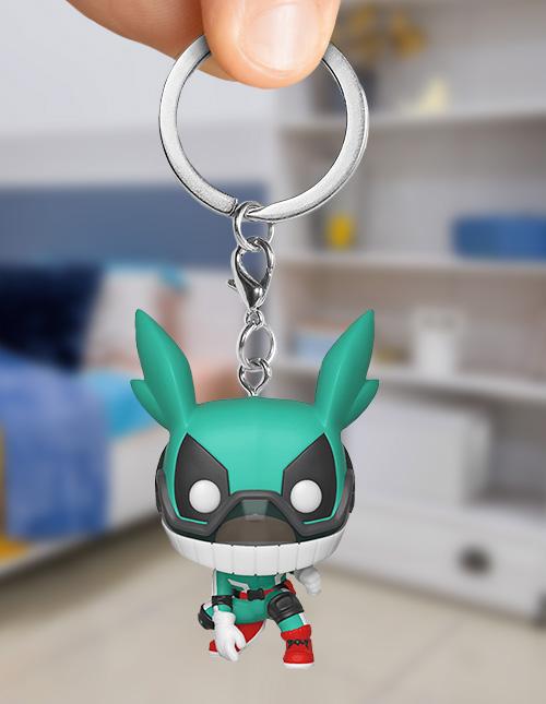 My Hero Academia Funko Keychain
