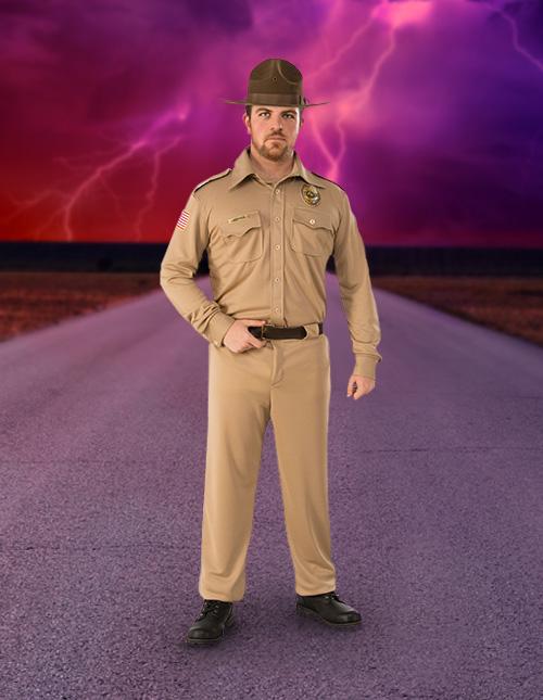 Jim Hopper Stranger Things Costume