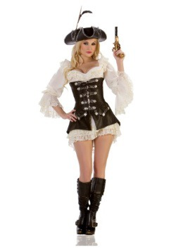 Women's Rogue Pirate Costume
