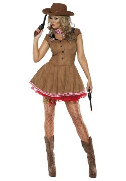 Wild West Cowgirl Costume For Women