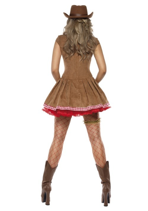 Wild West Cowgirl Costume For Women alt 1