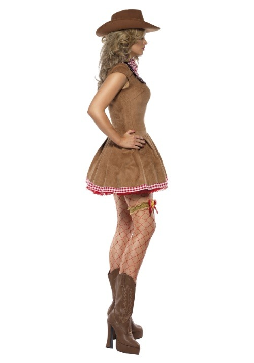 Wild West Cowgirl Costume For Women alt 3