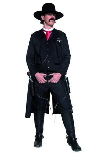 Western Sheriff Costume For Men