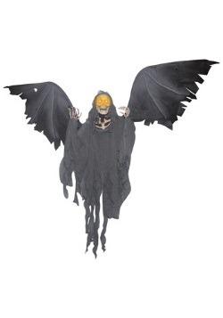 Flying Skeleton Reaper Halloween Decoration
