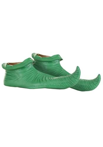 Green Elf Shoe Covers