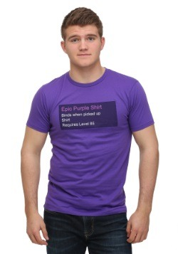 Men's World of Warcraft Epic Purple T-Shirt