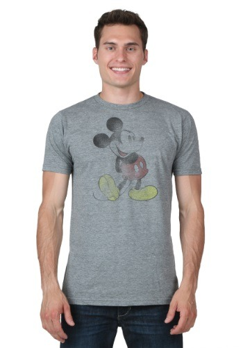 Distressed Classic Mickey T-Shirt