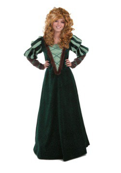 Courageous Women's Forest Princess Costume