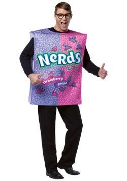 Adults Willy Wonka Nerds Box Costume