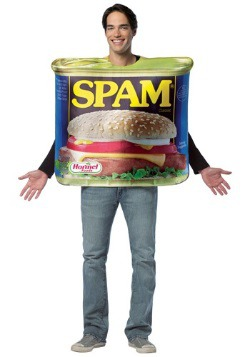 Can of Spam Adult Costume