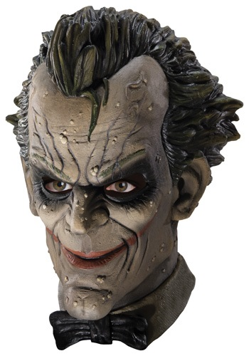 Adult Video Game Joker Latex Mask