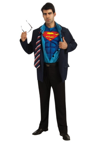 Adult Superman or Clark Kent Costume