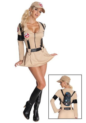 Women's Sexy Secret Wishes Ghostbuster Costume