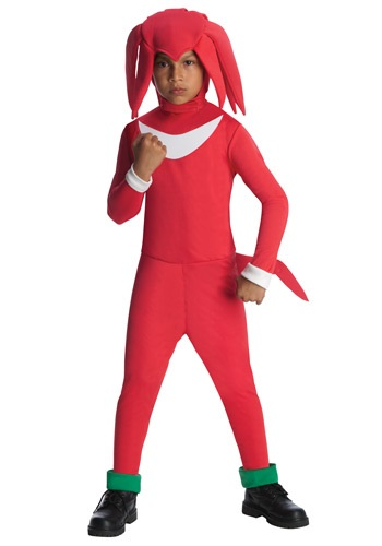 Knuckles Video Game Kids Costume