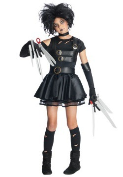 Tween Ms. Scissorhands Costume