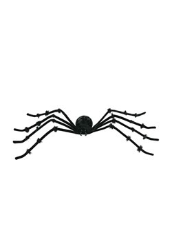 "Posable Black 50"" Spider"