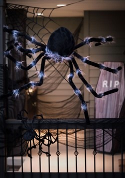 Poseable Black 50 inch Spider Alt 1