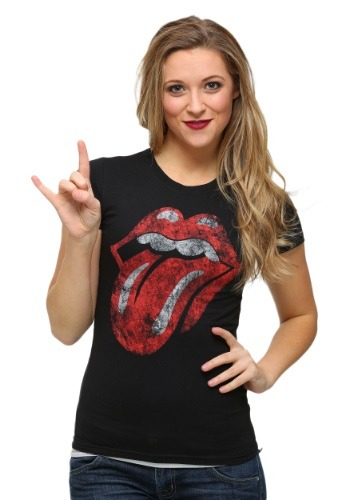 Womens Rolling Stones Tongue T-Shirt