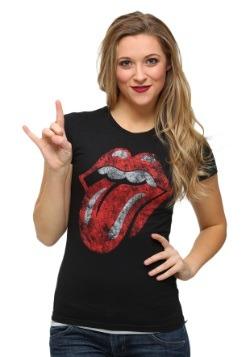 Womens Rolling Stones Tongue T-Shirt