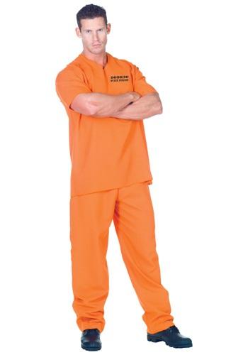 Men's Public Offender Inmate Costume