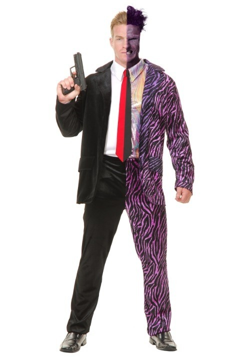 Split Personality Villain Men's Costume