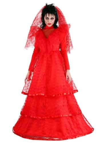 Women's Red Gothic Wedding Dress update