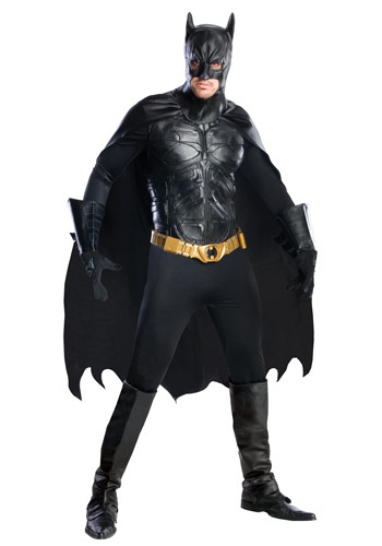 Mens Grand Heritage Dark Knight Batman Costume