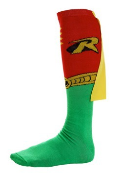 Superhero Robin Socks