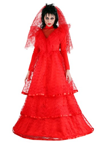 Red Gothic Plus Size Wedding Dress Costume update