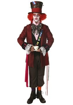 Plus Size Authentic Mad Hatter Costume For Adults