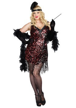 Dames Like Us Flapper Costume For Plus Size