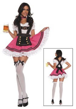Womens Fancy Beer Girl Costume