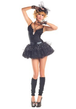 Women's Material Pop Star Costume