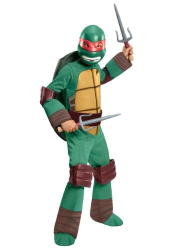 Deluxe TMNT Raphael Boys Costume