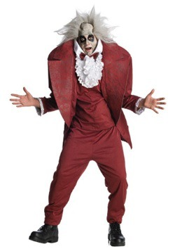 Adult Shrunken Head Beetlejuice Costume