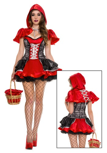 Women's Fiery Lil' Red Costume