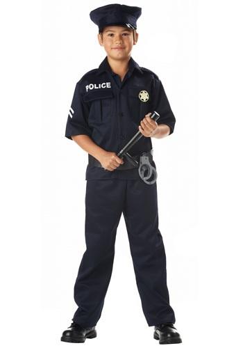 Kids Police Costume