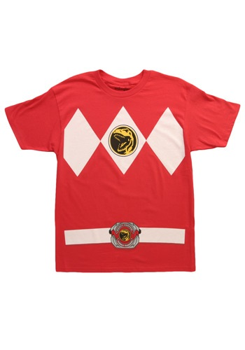 Red Power Ranger T-Shirt