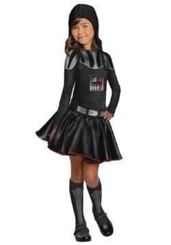 Darth Vader Girls Dress Costume