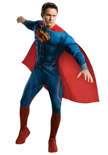 Superman Man of Steel Adult Deluxe Costume