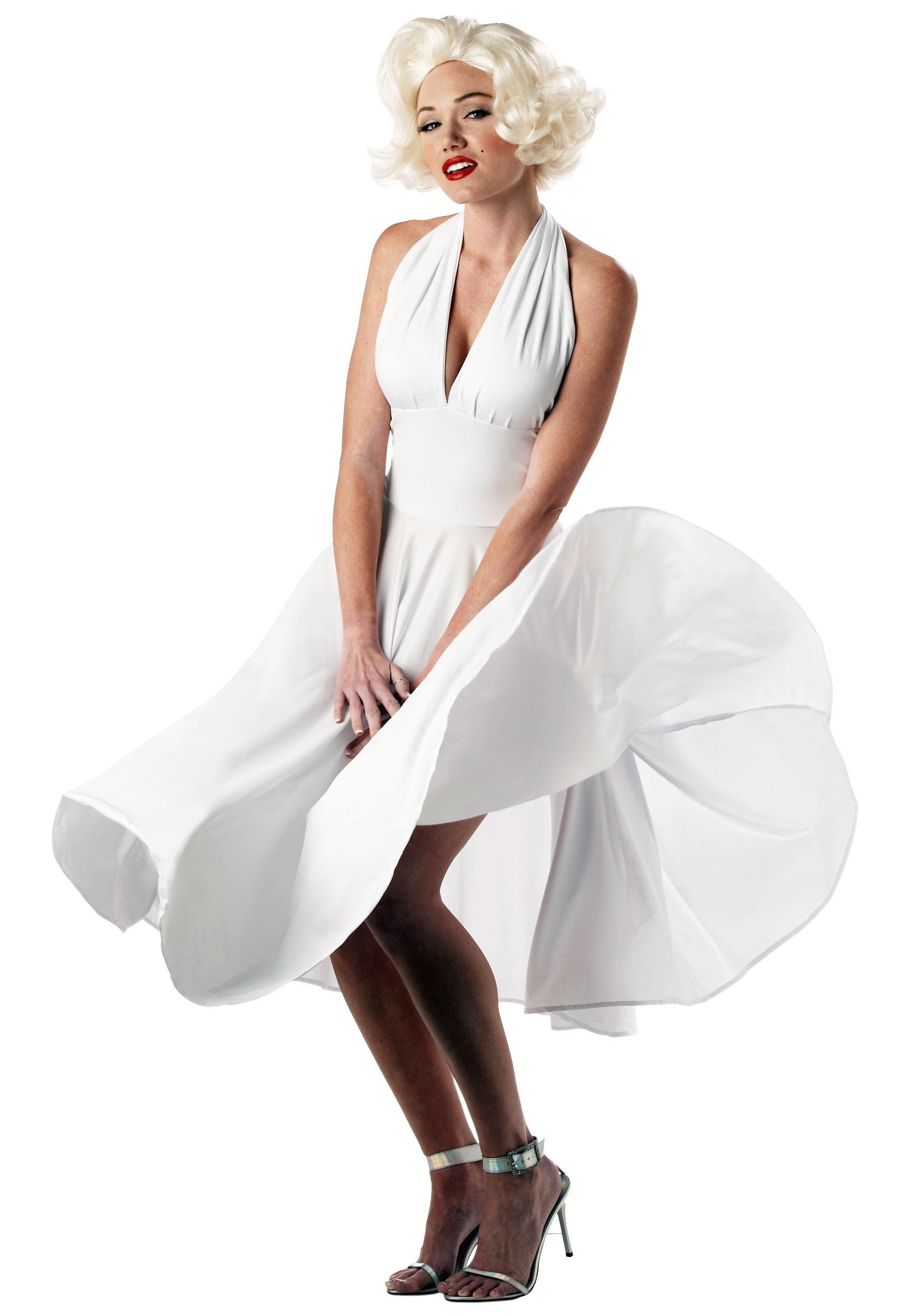 Marilyn Monroe Dress Fancy Dress Costume
