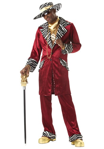 Men's Sweet Daddy Pimp Costume