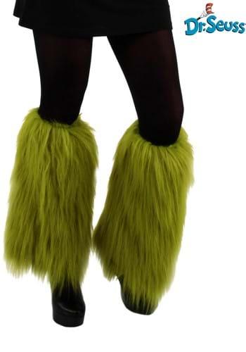 Grinch Fuzzy Leg Warmers
