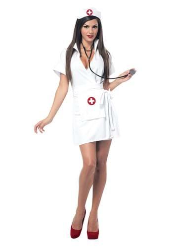 Women's Retro Nurse Costume