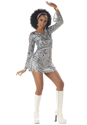 Disco Diva Dress Costume