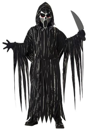 Boys Screaming Horror Costume