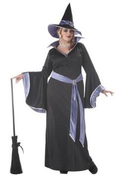 Womens Plus Size Glamour Witch Incantasia Costume