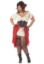 Womens-Plus Size Cantina Gal Costume
