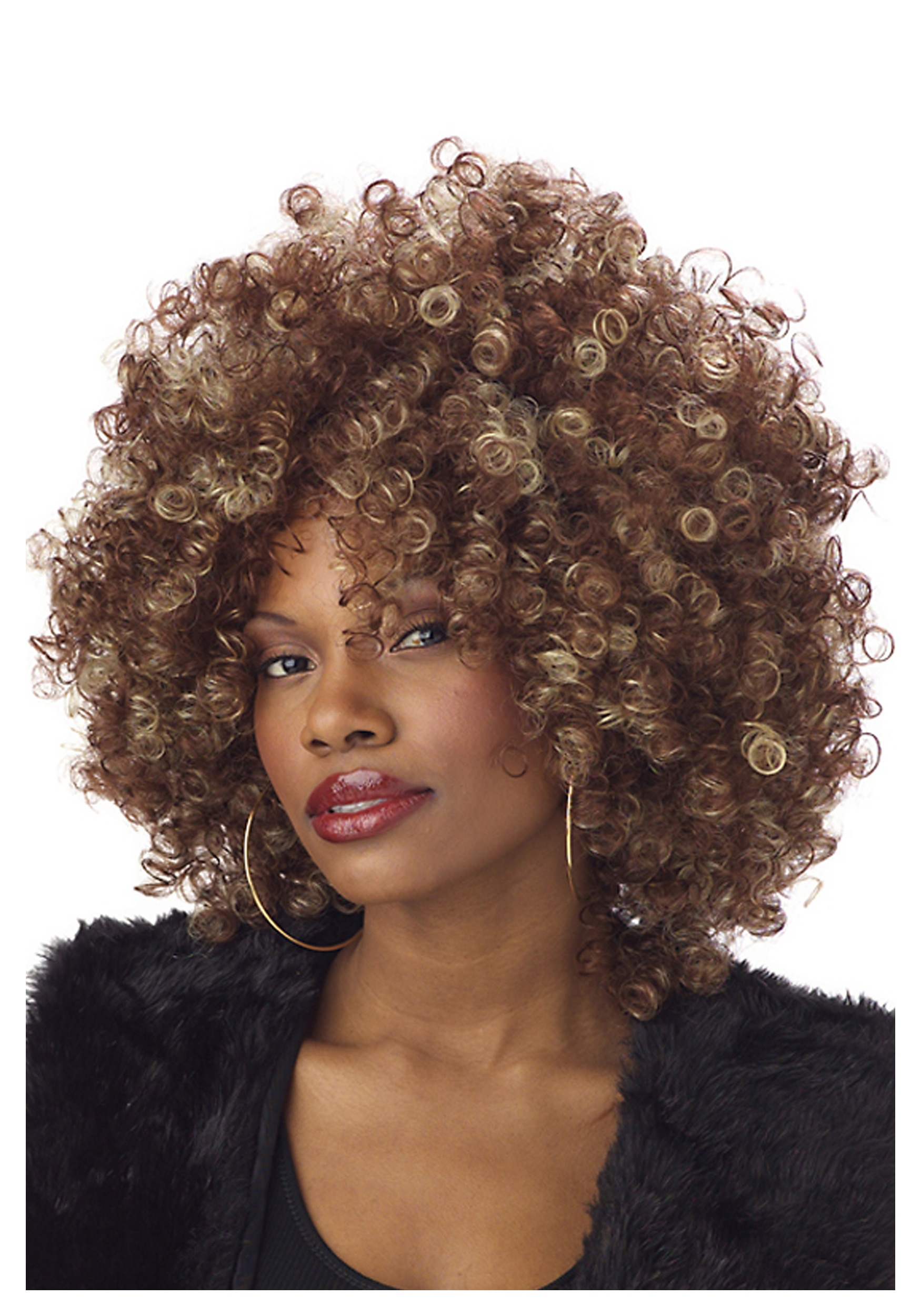 Fine Foxy Fro Wig For Adults 29ef06ed30