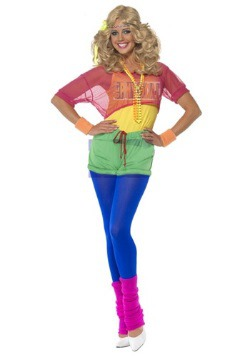 Womens 80s Let's Get Physical Costume
